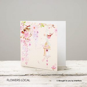 Pretty Flowers – Blank Greetings Card